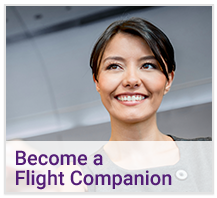 Become A Flight Companion